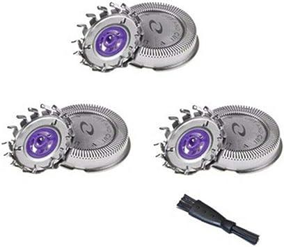 oral-q 3 x cabezales de afeitado de repuesto cuchilla para afeitadora Philips HQ3 HQ4 Series HQ55 , etc. (3pc): Amazon.es: Salud y cuidado personal