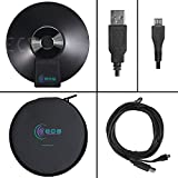 WordForum USB 360° Stereo Conference Microphone - Omni-Directional Digital Recording For Meetings, Teleconferencing, Video Conferencing, Zoom, SKYPE, VoIP Calls with Daisy Chain Option