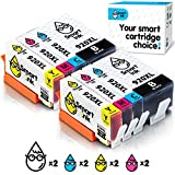 Smart Ink Compatible Ink Cartridge Replacement for HP 920 XL 920XL (2BK & 2C/M/Y 8 Pack Combo) Compatible with HP Officejet 6000 6500 6500A 7000 7500 7500A
