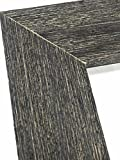 16x20 Charcoal black Ready-Made Frame Weathered Real Wood With Rustic Finish ...