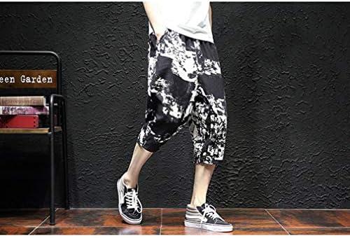 サルエルパンツ 春夏 麻ズボン サルエル ひんやり メンズ ダンスパンツ メンズ ワイドパンツ 涼しいズボン サルエルパンツ ウェア ドレープ サルエルパンツ ドレープ サルエルパンツ ダンス メンズ レディース
