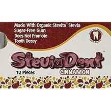 Stevita Stevia Dental Gum, Cinnamon, 12 Count (Pack of 12)