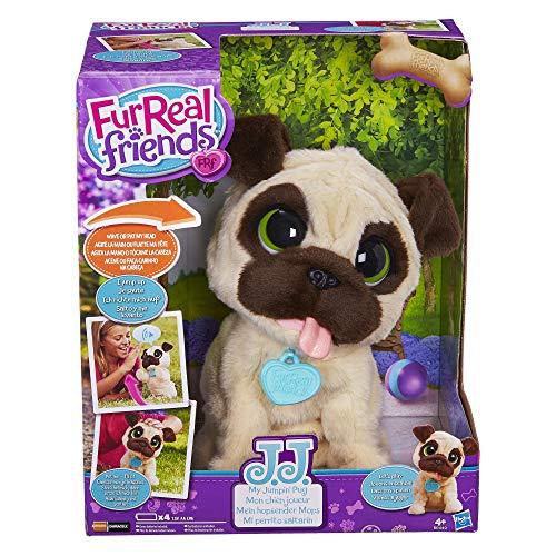 - FurReal Friends J.J. Mon Chien Joueur Interactive Soft Toy