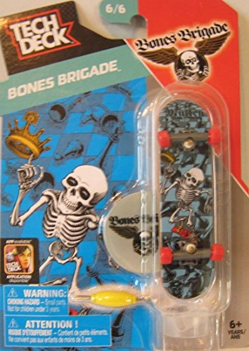 Price comparison product image Tech Deck Rodney Mullen Bones Brigade Powell Peralta 6/6 Mini Finger Skateboard