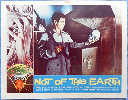 Not Of This Earth Lobby Card