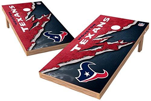 - PROLINE NFL Houston Texans 2'x4' Cornhole Board Set - Ripped Design