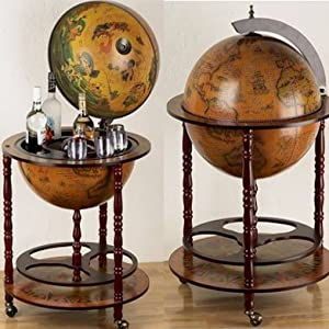 eucalyptus bar globe drinks cabinet kitchen home. Black Bedroom Furniture Sets. Home Design Ideas