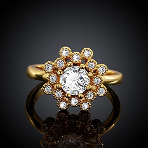 AmDxD Gold Plated Women Rings Gold Set A - Ultra Diamonds White Gold Necklace Shopping Results