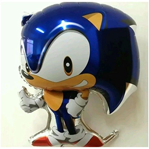 NEW Sonic the Hedgehog Balloon gamer party knuckles sonic birthday party sega -