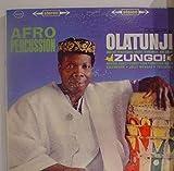 OLATUNJI AFRO PERCUSSION ZUNGO! vinyl record