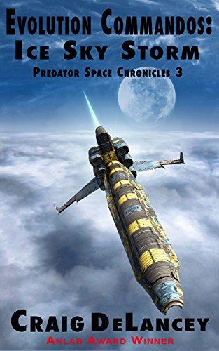 book cover of Evolution Commandos: Ice Sky Storm