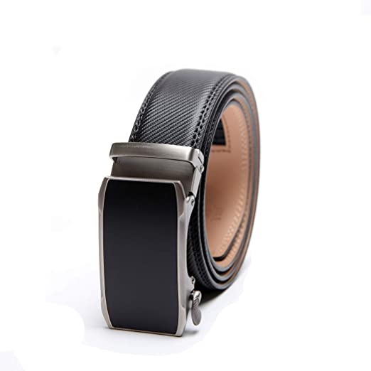 Genuine Leather Belt Automatic BuckleMen/'s leather belts for suits or jeans