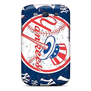 Galaxy S3 VtM1234JqsM Allow Personal Design High-definition New York Yankees Pictures Shock Absorption Hard Phone Case -CassidyMunro