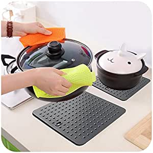 New Non-Stick Silicone Dots Pan Hot Pads Baking Pastry Cooking Dish Mat Liner Tray