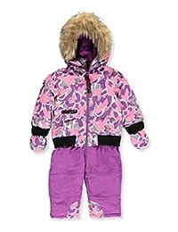 "Canada Weather Gear Baby Girls' ""Wintry Layer"" 1-Piece Snowsuit"