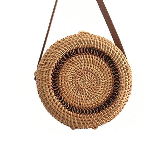 Bag Bag Storage Handmade Fashion Beatie by Shoulder bag Beach Bag Women Knitted Woven Crochet for vBq1Bp