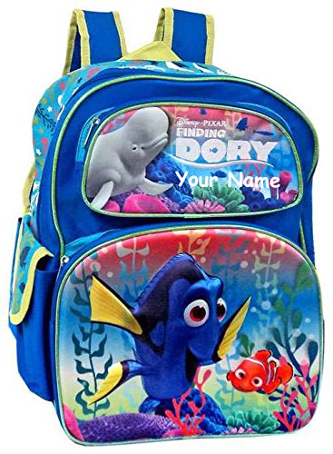 Personalized Finding Dory Back to School Backpack Book Bag - 16 Inches