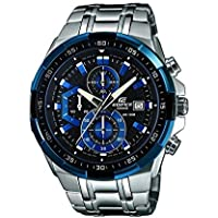 Casio Men's Dark Blue Dial Stainless Steel Band Watch - EFR-539 DY-1A