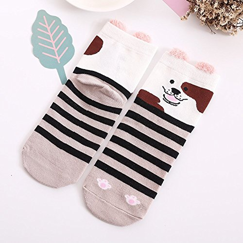 Cotton Socks Girls 6 Pack by K-LORRA (Image #4)
