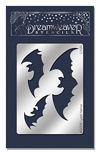 Stampendous Dreamweaver Metal Stencil, Bats Bat Stencil
