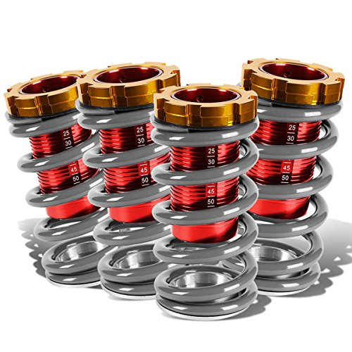 Acura Integra Coilovers - DNA Motoring COIL-HC88-T11-SL Coilover Sleeve Kits
