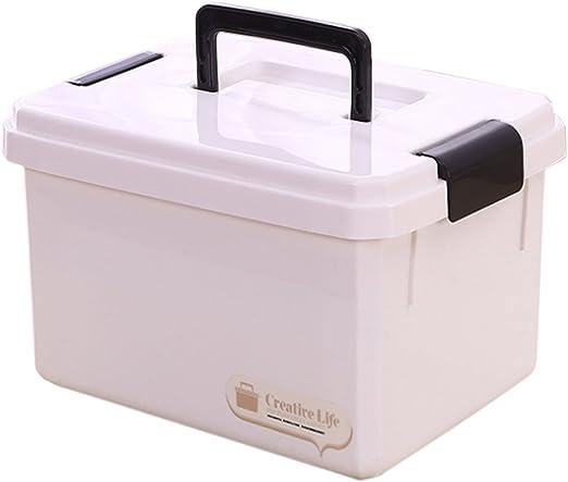 tosbess 18L plástico Medicina caja de primeros auxilios caja ...