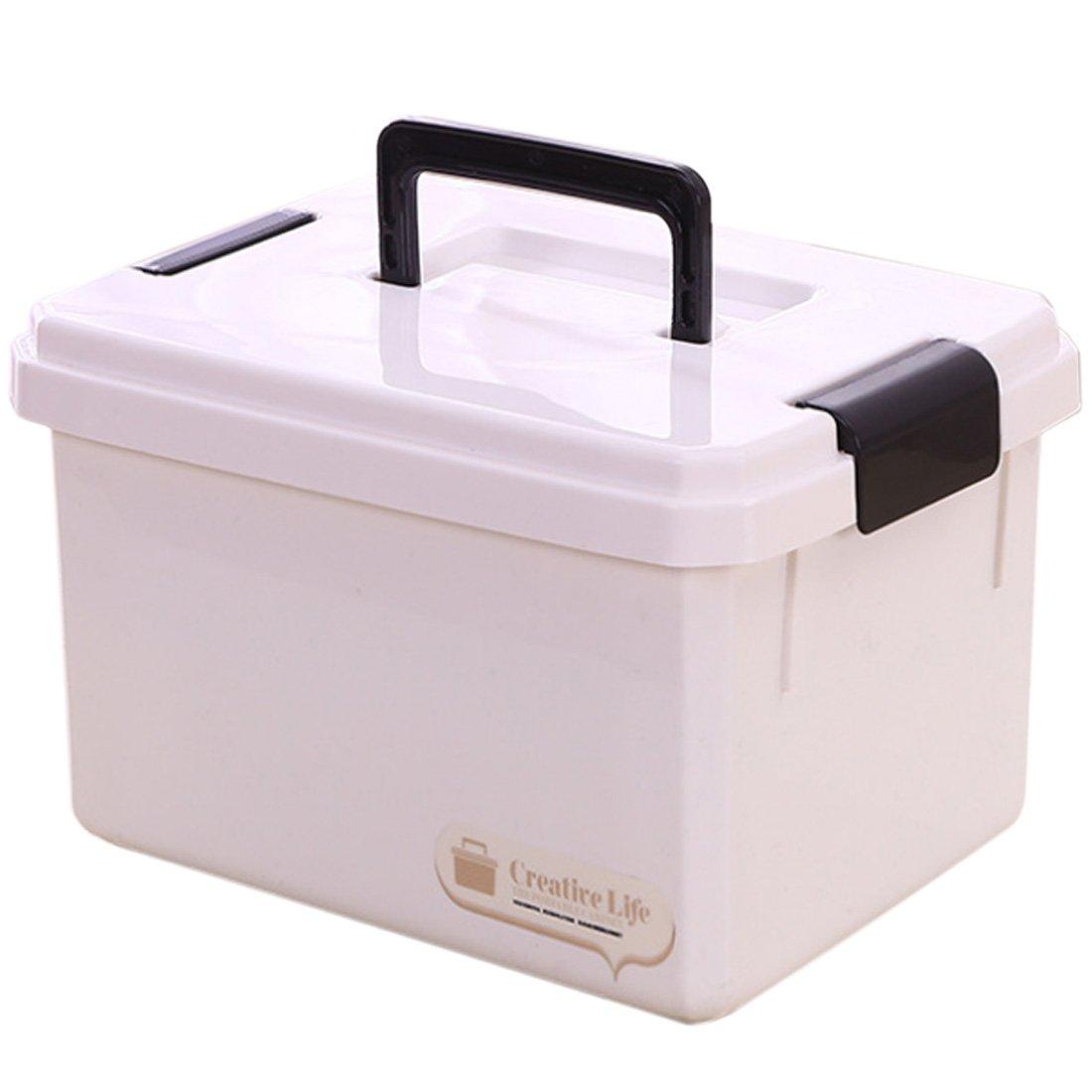 Winni43Julian Cassetta Pronto Soccorso Vuota 10L Kit Pronto Soccorso Casa di Plastica