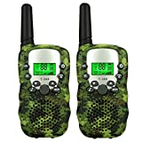 TISY Outdoor Sporting Hunting Toys for 3-12 Year Old Boys Girls, Walkie Talkies for Kids Birthday Presents Gifts for 3-12 Year Old Boys Girls Green TSUSDJ01