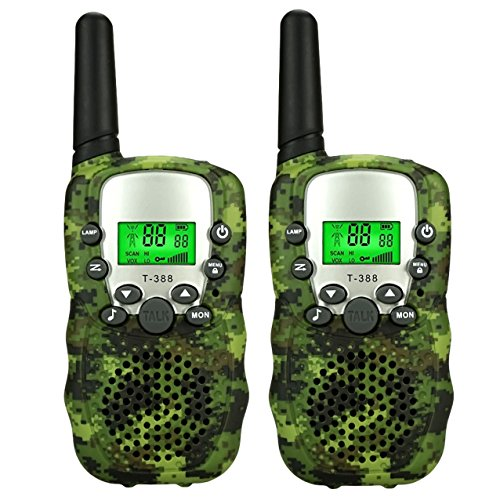 Dreamingbox Hunting Outdoor Toys for 4-5 Year Old Boys Girls, Tisy Two Way Radios for Adult Girls Birthday Presents Gifts for 3-12 Year Old Boys DJ01