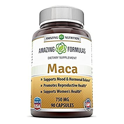 Amazing Formulas Maca Root Supplement * High Concentrate, Pure Maca (Lepidium Meyenii) Root