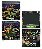 Teenage Mutant Ninja Turtles TMNT Leonardo Leo 3D TV Cartoon Movie Video Game Vinyl Decal Skin Sticker Cover for Nintendo GBA SP Gameboy Advance System