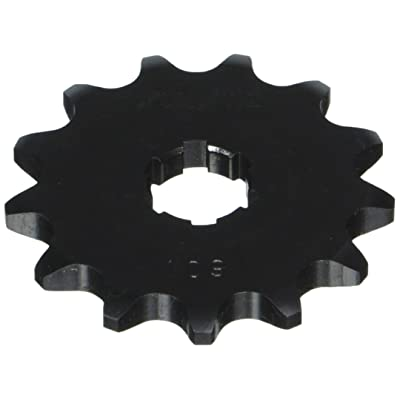 Sunstar 10913 13-Teeth 420 Chain Size Front Countershaft Sprocket,Black: Automotive