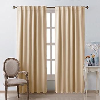 Window Treatment Curtains Room Darkening Draperies
