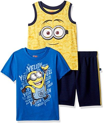 Universal Boys Minions 3 Piece Short Set