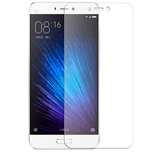Xiaomi Mi 4s Screen Protector, iCoverCase [High Definition] 9H Hardness Tempered Glass [2.5 Round Edge] Screen Protective Film Xiaomi Mi 4s / 5.0 inch