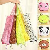 Eco Storage Handbag Cute Animals Foldable Shopping Tote Bags Reusable Bag