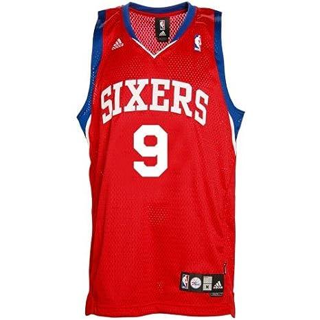 ... norway amazon adidas philadelphia 76ers 9 andre iguodala red swingman  basketball jersey medium sports outdoors 5dc6d 247ffe31d