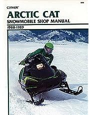 Clymer Arctic Cat Snowmobile Shop Manual 1988-1989: Service, Repair, Maintenance