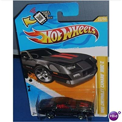 Hot Wheels 1985 Chevrolet Camaro Iroc-Z (2012 model) by Hot Wheels: Toys & Games