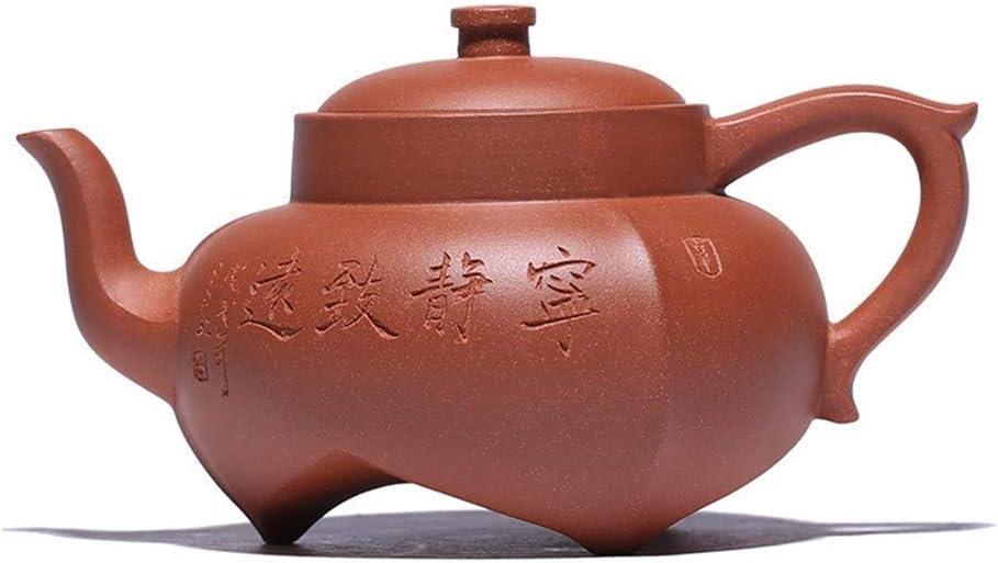 ZJN-JN キントー ティーポット 高級感 おしゃれ プレゼント 王ハンド宜興急須鉱泥茶の茶ポットのスロープ静かな態度ポットダウン 贈り物