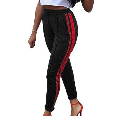 f0cc4affc Hibote Women Middle Waist Pencil Pants, Retro Skinny Slim Fit Jeans Fashion  Narrow Feet Casual Long Denim Trousers Workwear Light Blue S M L:  Amazon.co.uk: ...