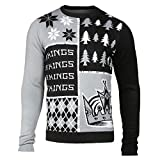 FOCO Los Angeles Kings Busy Block Ugly Sweater Large