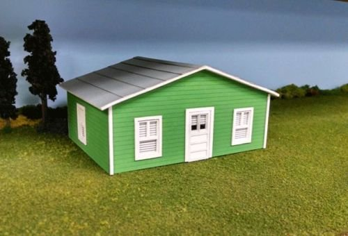 Train Time Laser O Scale Laser Cut Matt's House Building, used for sale  Delivered anywhere in USA
