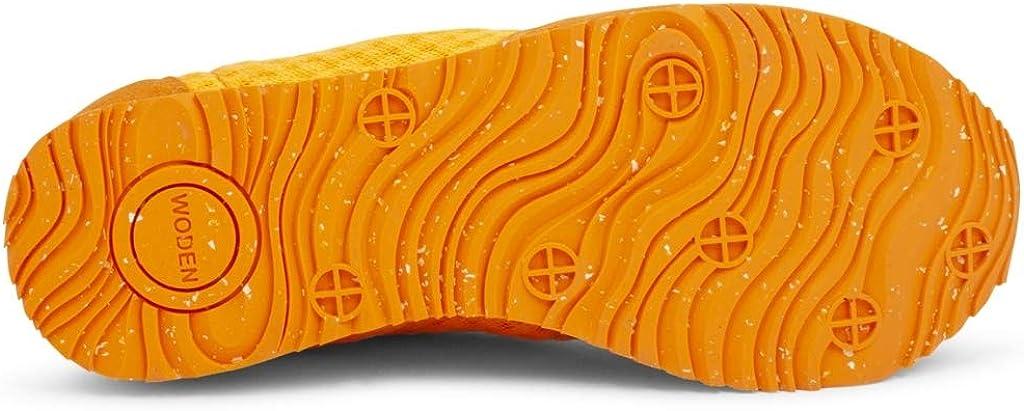 Woden Sneakers Ydun Suede Mesh 608 Bright Orange