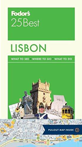 Fodor's Lisbon 25 Best (Full-color Travel Guide)
