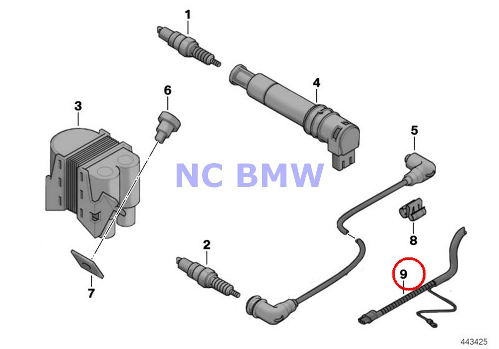 BMW Genuine Motorcycle Double-Ignition System Wiring Harness Repair on