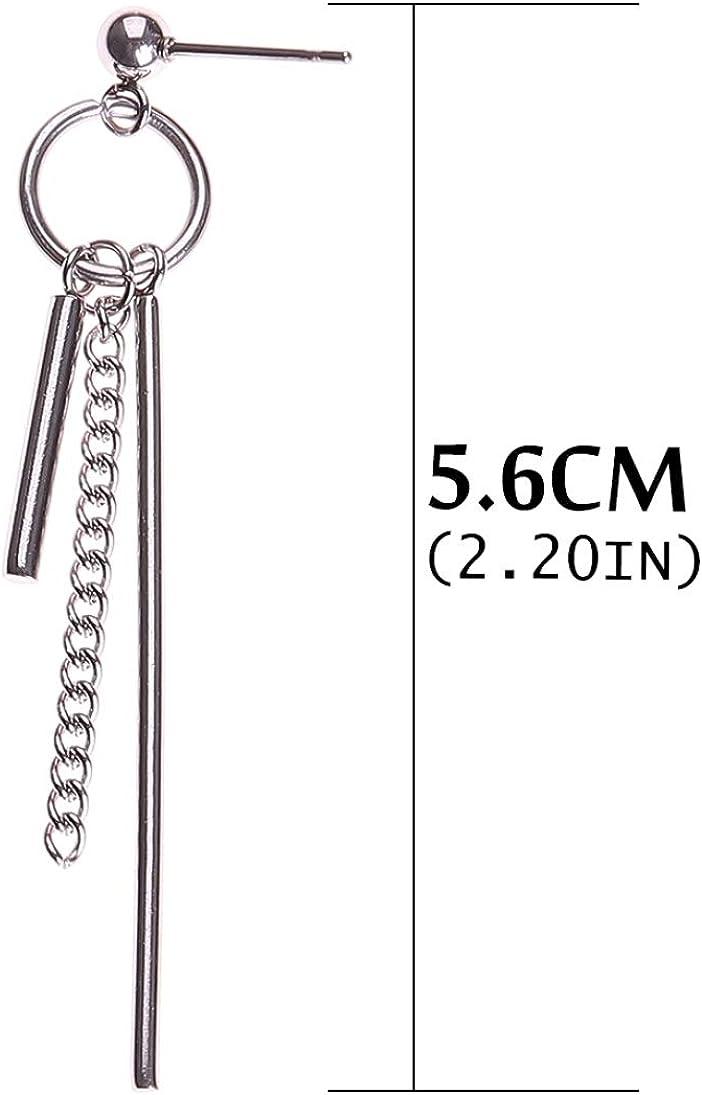 BTS Boucle d oreille cor/éenne bontain boy fashion accessories Neutral Titanium Steel clou d oreille Jimin Suga V Boucle d oreille XINGSd Superior kpop 2