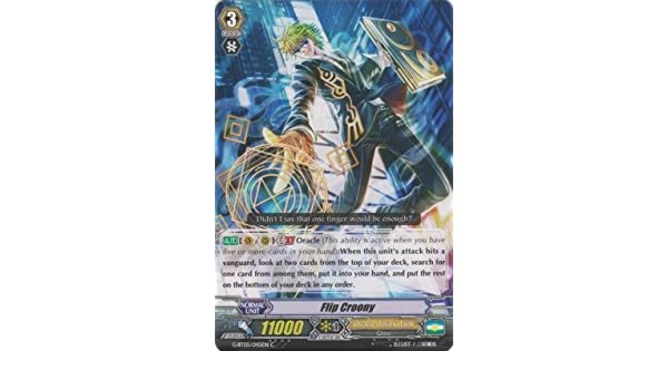 FLIP CROONY G-BT05//045EN C CARDFIGHT VANGUARD CARD