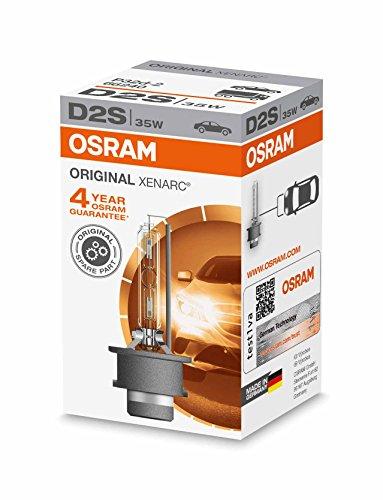 OSRAM 66240 XENARC ORIGINAL - Lámpara de xenón, D2S HID, calidad de equipamiento original OEM, 1 unidad