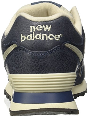 New Balance 574, Sneaker Uomo Blu (Stone Blue 973)